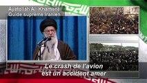 """Iran: le drame """"amer"""" de l'avion ne doit pas faire oublier le """"sacrifice"""" de Soleimani (Khamenei)"""