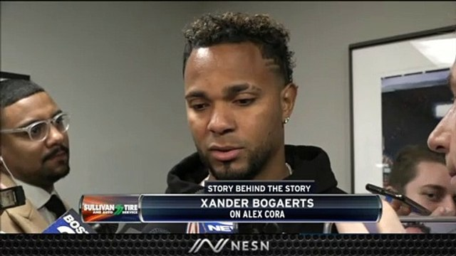 Xander Bogaerts Reacts To Alex Cora's Departure From Red Sox
