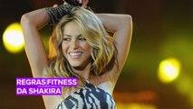 A preparação de Shakira para o Super Bowl