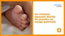 Un ministre japonais décide de prendre un congé paternité