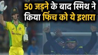 India vs Australia, 2nd ODI : Steve Smith smashes his 24th ODI Fifty in Rajkot | वनइंडिया हिंदी