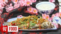Retro Recipe: Steamed fish with crispy soy mince