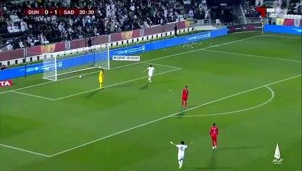 Finale Coupe du Qatar : Bounedjah claque un doublé face à Al Duhail (4-0)