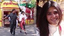Ekta Kapoor seek blessings from Shani Temple;Watch video | FilmiBeat