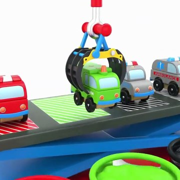 Colors For Children To Learn With Street Vehicles Learn Colors With Water Colors Bath For Kids