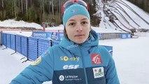Biathlon : un magnifique relais pour Célia Aymonier et l'équipe de France