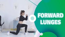 Forward lunges - Fit People