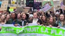 Greta Thunberg beim Schweizer Klimastreik dabei