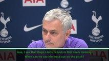 Lloris like a January signing - Mourinho
