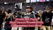 Steve Gleason Gets The Congressional Gold Medal