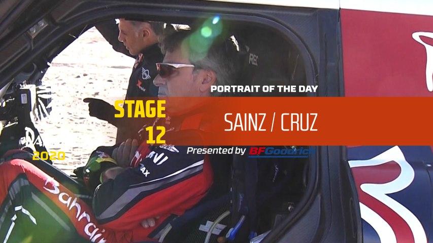 Dakar 2020 - Stage 12 - Portrait of the day - Sainz/Cruz