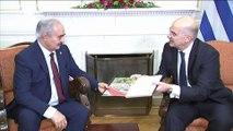 Athènes reçoit le maréchal Haftar deux jours avant la conférence de Berlin