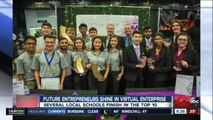 Future entrepreneurs shine in virtual enterprise competition