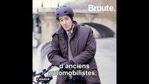 Il roule à vélo à cause des grèves - Broute - CANAL+