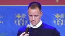 Ter Stegen thanks sacked Valverde