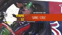 Dakar 2020 - Etapa 12 - Retrato del día - Sainz/Cruz