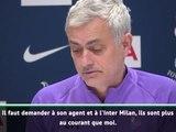 """Transferts - Mourinho : """"Ah bon ? L'Inter est confiant pour Eriksen ?"""""""