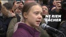 """""""Vous n'avez encore rien vu"""" lance Greta Thunberg aux dirigeants mondiaux de Davos"""