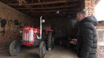I riu nga Zhabeli e ndez traktorin me telekomandë-Lajme