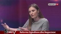 Report TV -Gjosha: Dëshira e LSI-së s'ka peshë të madhe, për sistemin vendosin PS dhe PD-ja
