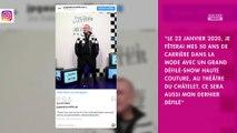 Jean-Paul Gaultier : son prochain défilé haute-couture sera son dernier