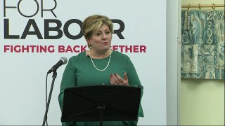 Emily Thornberry launches her Labour leadership campaign