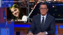 Stephen Colbert Spoofs Billie Eilish's Fake James Bond Theme Song | Billboard News