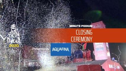 Dakar 2020 - Minute Podium presented by Aquafina