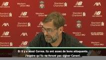 """Transferts - Klopp attentif au dossier Cavani : """"J'espère qu'il n'ira pas à l'Atlético, ils ont suffisamment de bons attaquants''"""