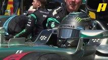شاهد لحظة انطلاق السائقين في السباق النهائي بحلبة كتالونيا 2015