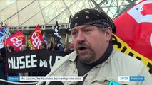 Grève contre la réforme des retraites : à Paris, l'accès au musée du Louvre bloqué