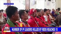 Number of IP leaders killed by Reds reaches 15