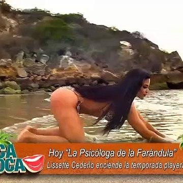 VIDEO   'La Psicóloga de la Farándula' abre la temporada playera 2020 con sensuales poses