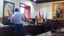 El presidente de los vecinos de Santa Lucía interviene en el pleno