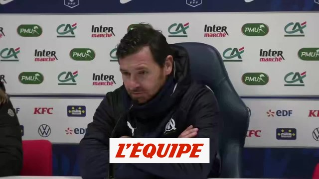 Villas Boas «Un match difficile» - Foot - Coupe de France - OM