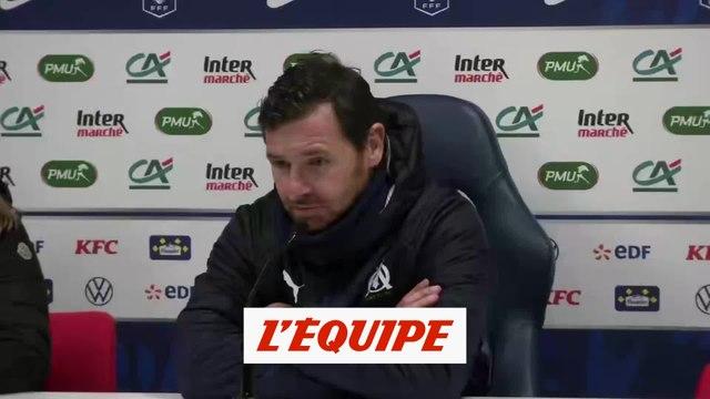 Villas Boas «Un match difficile» - Foot - Coupe de France - OM