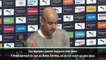 Barcelone - Guardiola adoube Setién : ''Ses équipes jouent toujours bien au football''