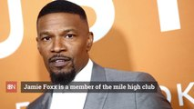 Jamie Foxx's Airplane Fun Time