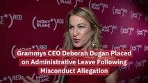 CEO Deborah Dugan Steps Back From Grammys Post