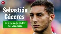 ¡Sebastián Cáceres llega al América!