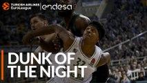 Endesa Dunk of the Night: Zach LeDay, Zalgiris Kaunas