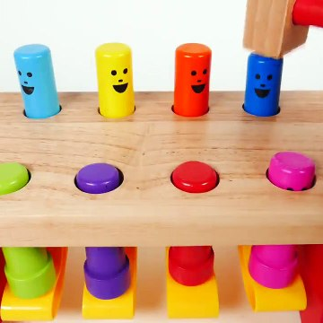 Learn Colors with Pounding Table Learning Toy for Children