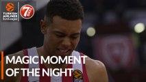 7DAYS Magic Moment of the Night: Wade Baldwin IV, Olympiacos Piraeus