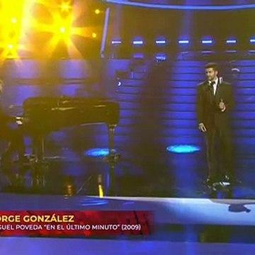 Jorge González Imita a Miguel Poveda (En el último minuto) TCMS 8 (Gala 2)