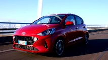 The new Hyundai i10 in Dragon Red Preview