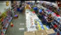 Vídeo mostra acusadas de terem furtado 60 frascos de desodorantes em supermercado de Cascavel