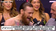 Conor McGregor Apologizes To Fans, Dedicates UFC 246 To Mom