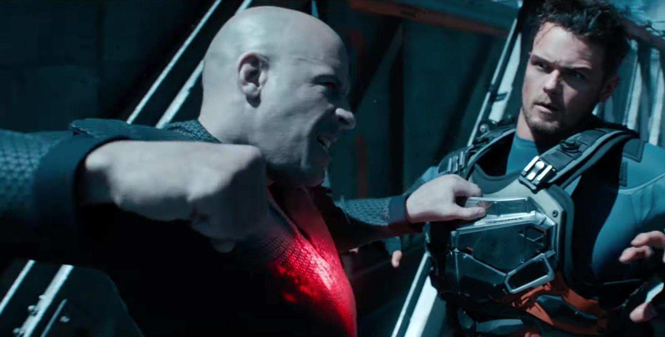 Bloodshot Film - Vin Diesel se fait injecter des super nano robots dans le corps!