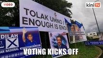 Kimanis kicks off, voting begins