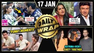 Kartik's LOVE For Sara, Akshay - Kiara Laxmmi Bomb, Katrina - Vicky Party TOGETHER   Top 10 News